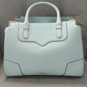 Light blue Rebecca Minkoff tote bag